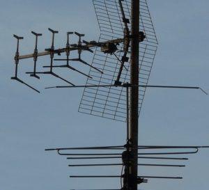 puntamento antenna tv