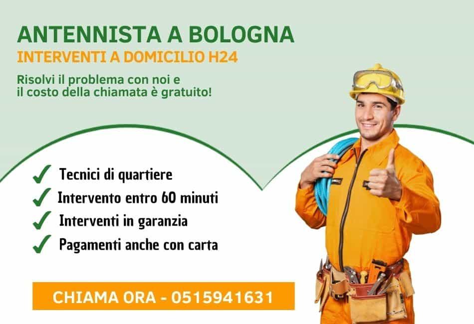 Antennista Bologna - Pronto Intervento